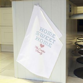 Personalised Tea Towel,  ref HTT1